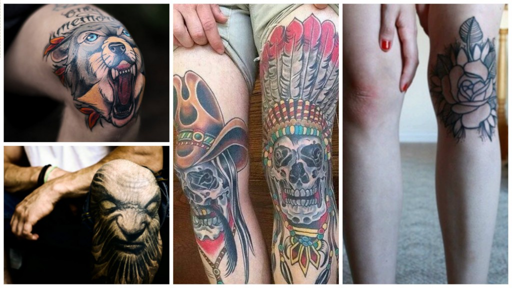 Knee Tattoos: 15 MOST PAINFUL PLACES TO GET A TATTOO