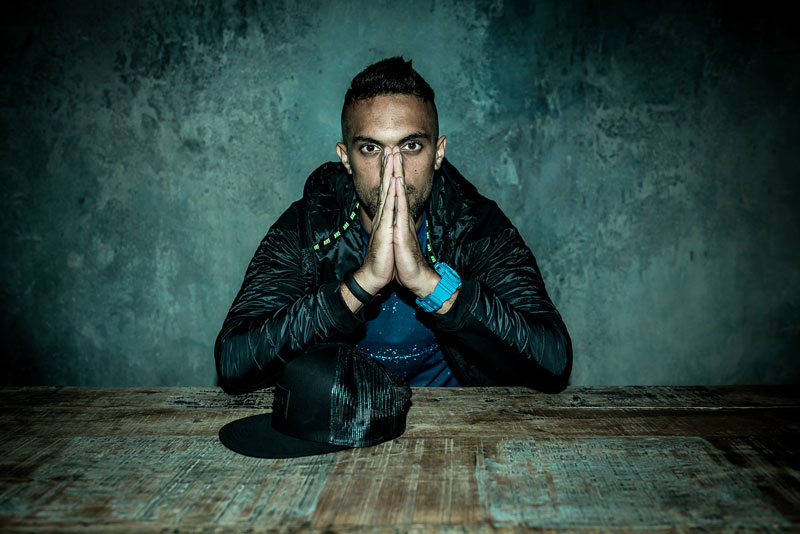 Footballer Robin Singh goes new school with his latest tattoo, and it looks badass!