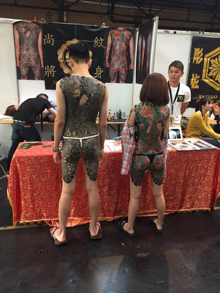 26th Berlin Tattoo Convention. Image credit: Fabrice Koch