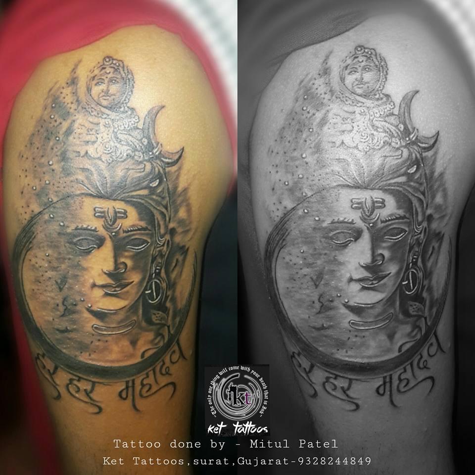 Pune Tattoo Fest Portfolio Peek: Mitul Patel of Ket Tattoos in Surat, Gujarat