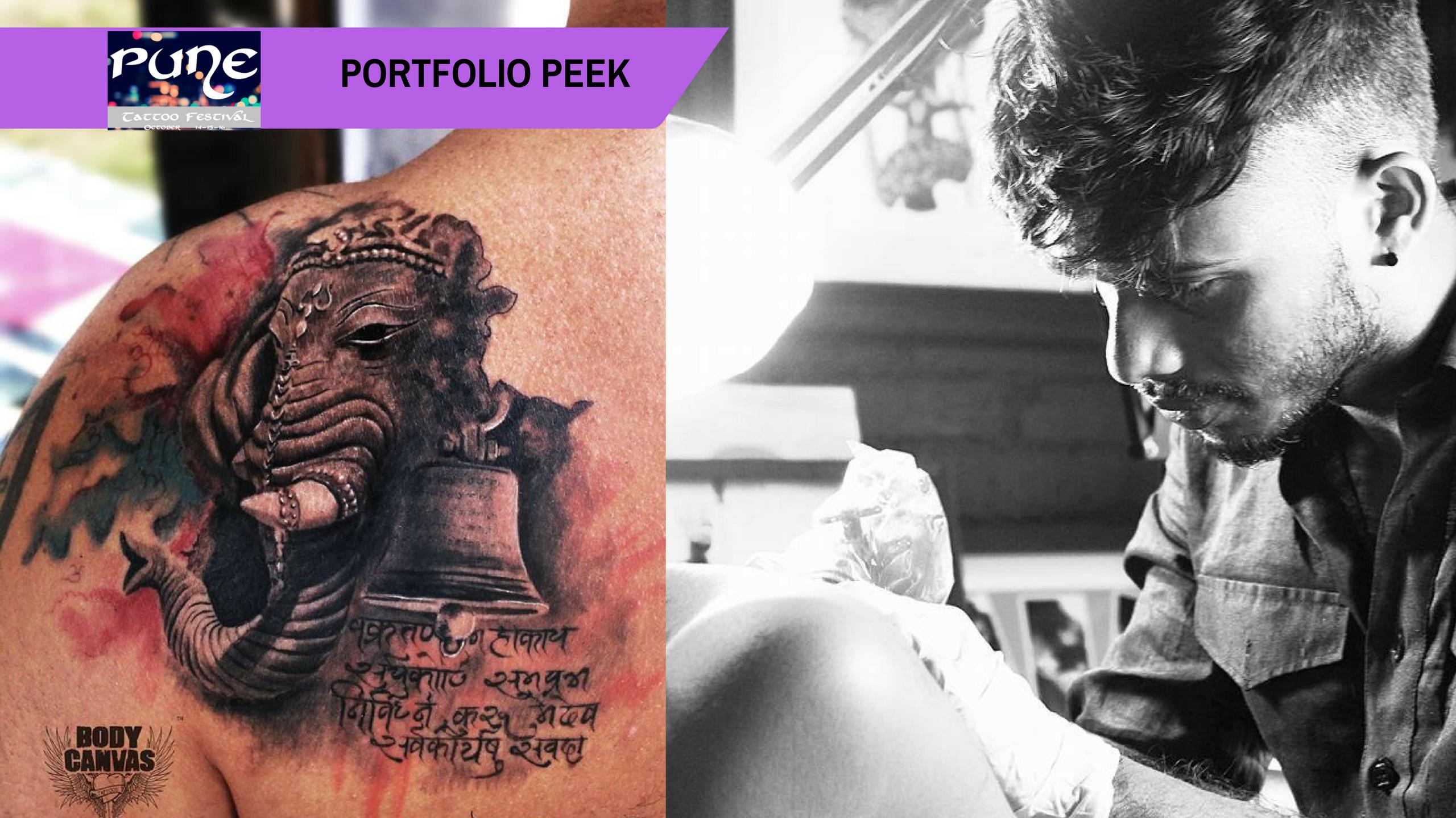 Pune Tattoo Fest Portfolio Peek: Amir Shaikh; the new-age tattoo artist