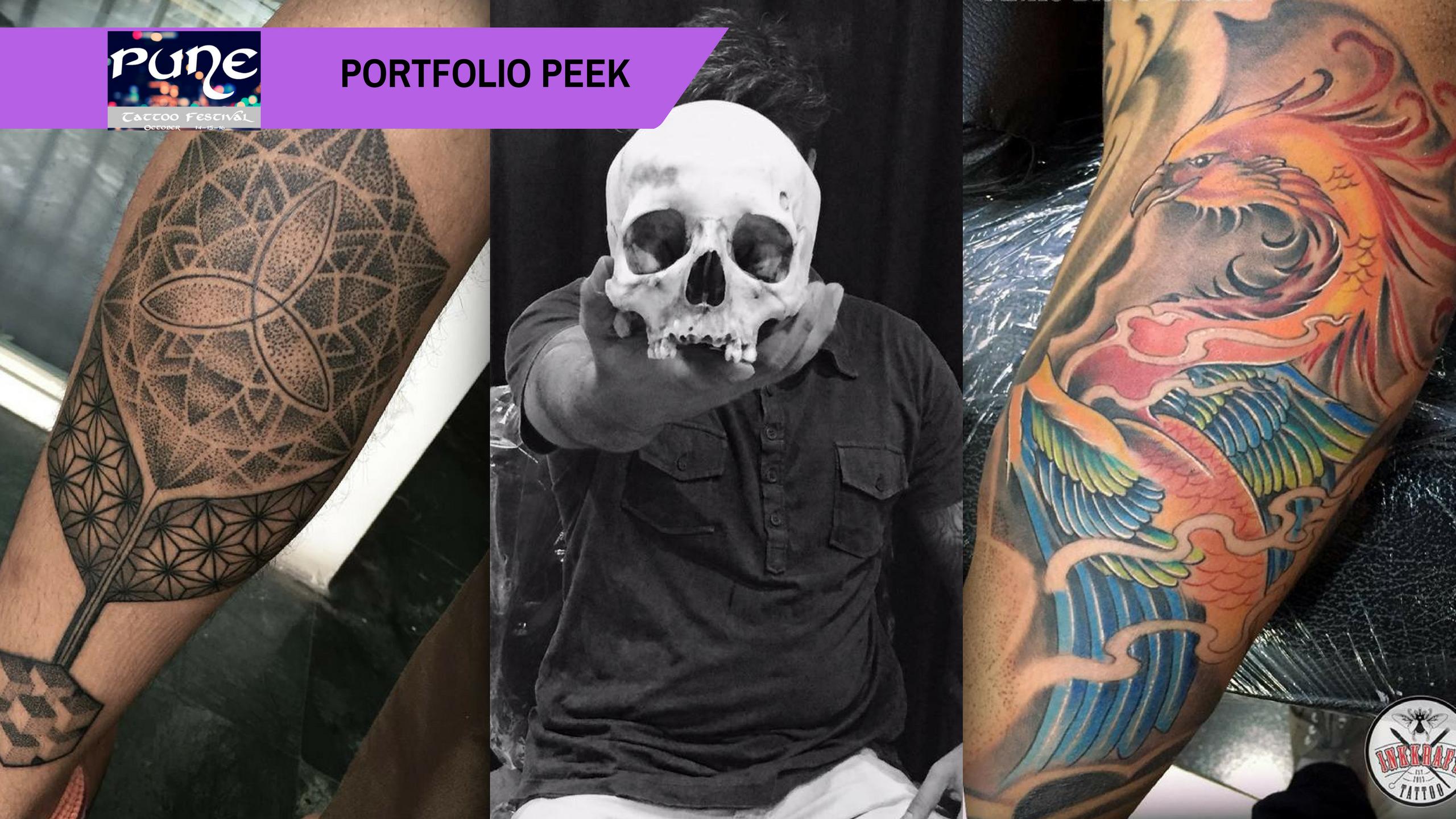 Pune Tattoo Fest Portfolio Peek: Pinku Bijoy Ghosh, the 'Craftsman of Ink'