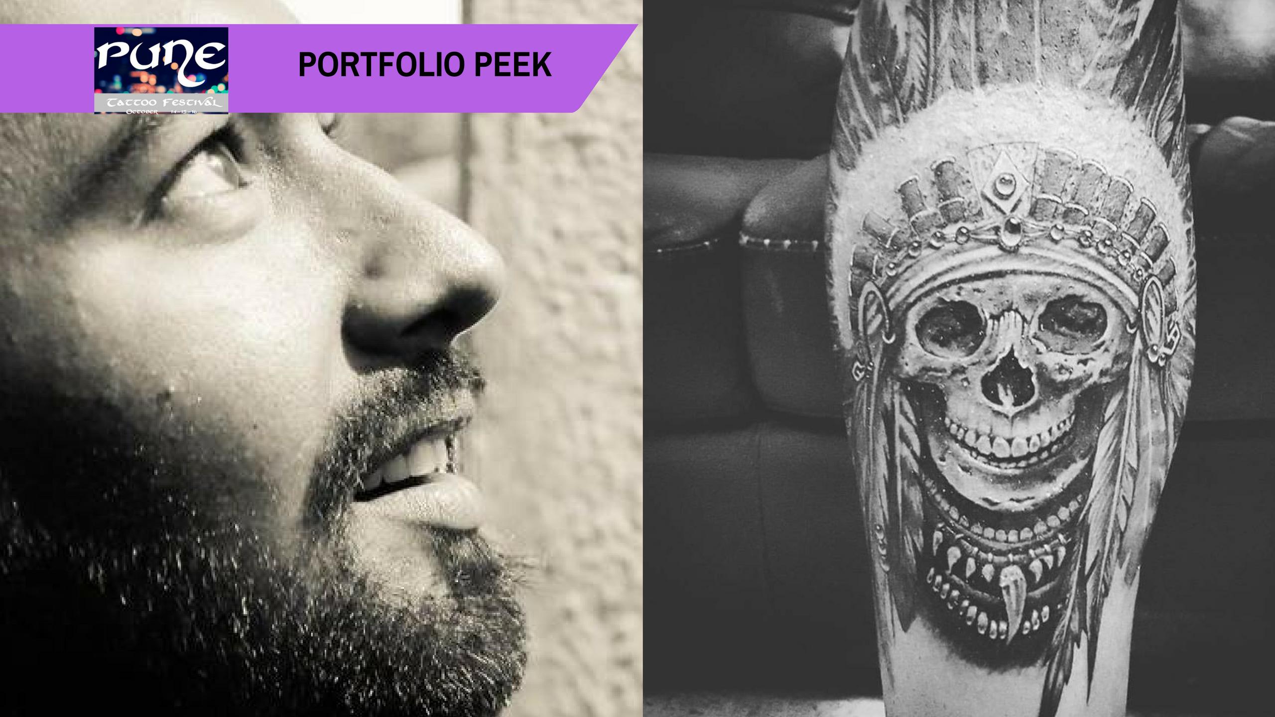 Pune Tattoo Fest Portfolio Peek: The ol' school, yet adapting Saurabh Pardeshi