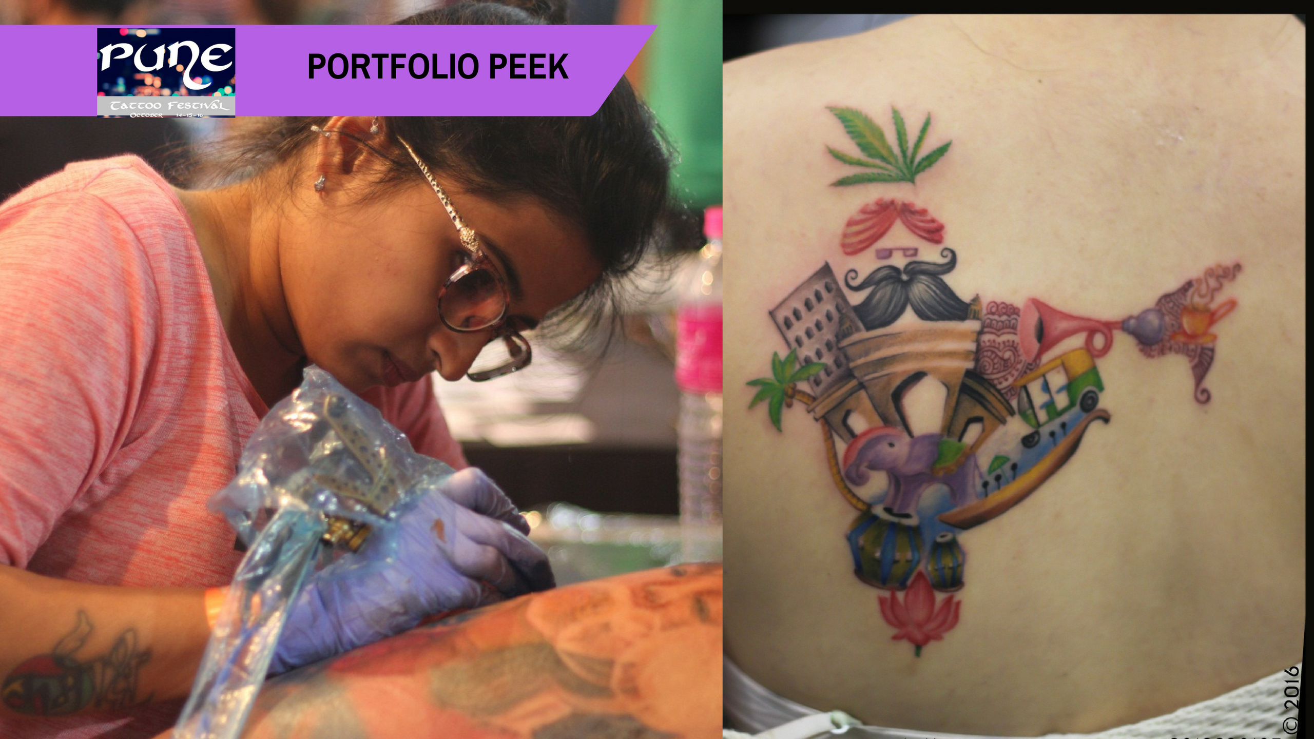 Pune Tattoo Fest Portfolio Peek: Archana Bhanushali's madness of colours