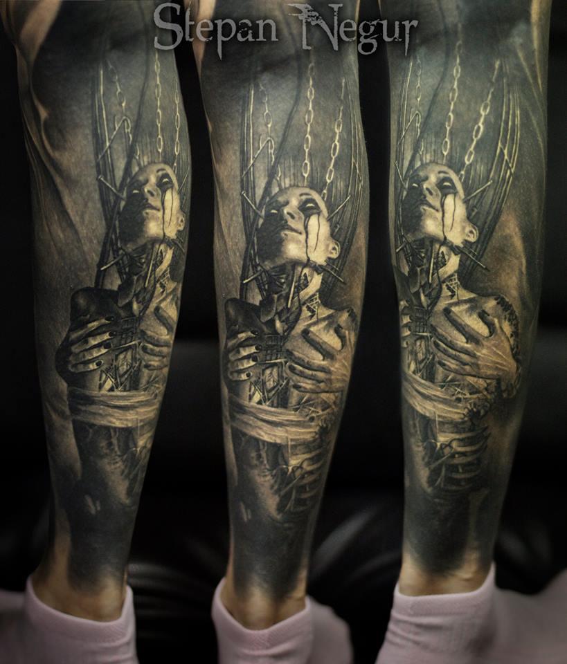 Tattoo by Stepan Negur