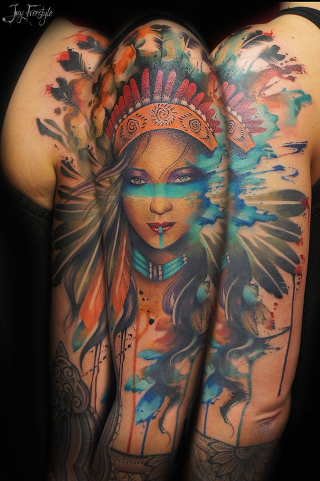 Tattoo by Jay Freestyle