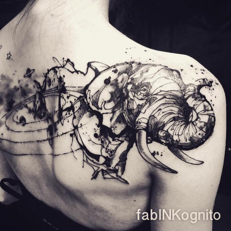 Tattoo by Fabrice Koch