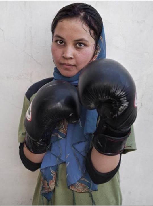 15-year old amateur boxer from Minnesota, Amaiya Zafar