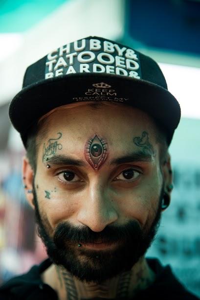 Photo by Tanya Agarwal at Goa Tattoo Festival 2017
