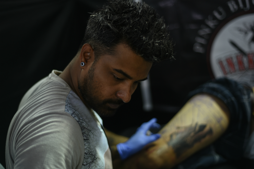 Artist Spotlight: The non-conforming tattooing of Pinku Bijoy Ghosh