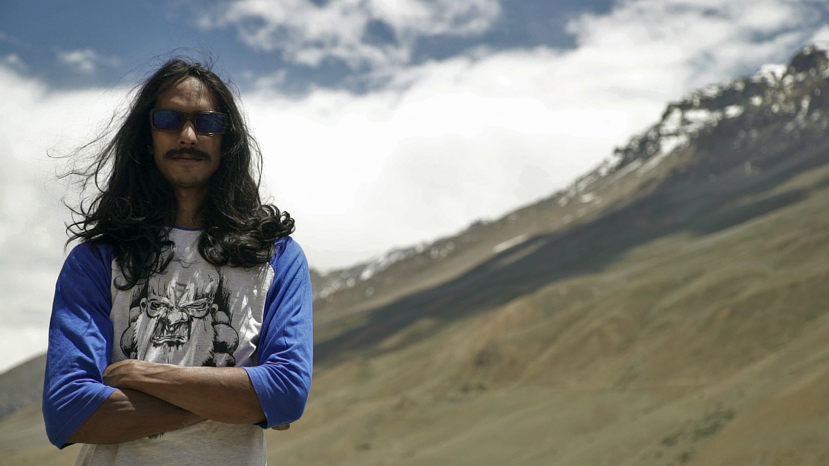 Riding into the apocalypse with Vinay Menon; India's OG freerider