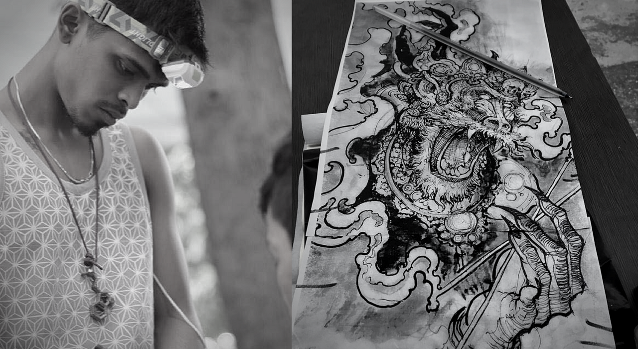 Artist Spotlight: The illustrative madness of Raja Gopalan S