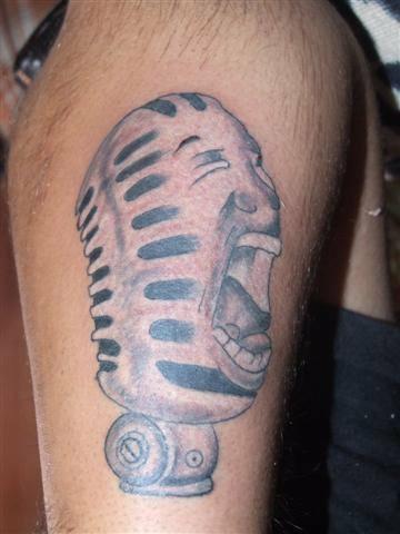 Tattoo by Rajeev Lama, Kathmandu