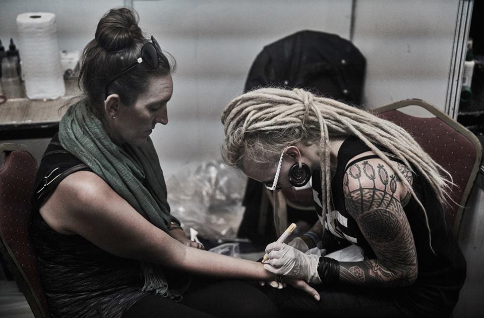 In conversation with Maïka Zayagata: Breaking down the lifelong tattoo process