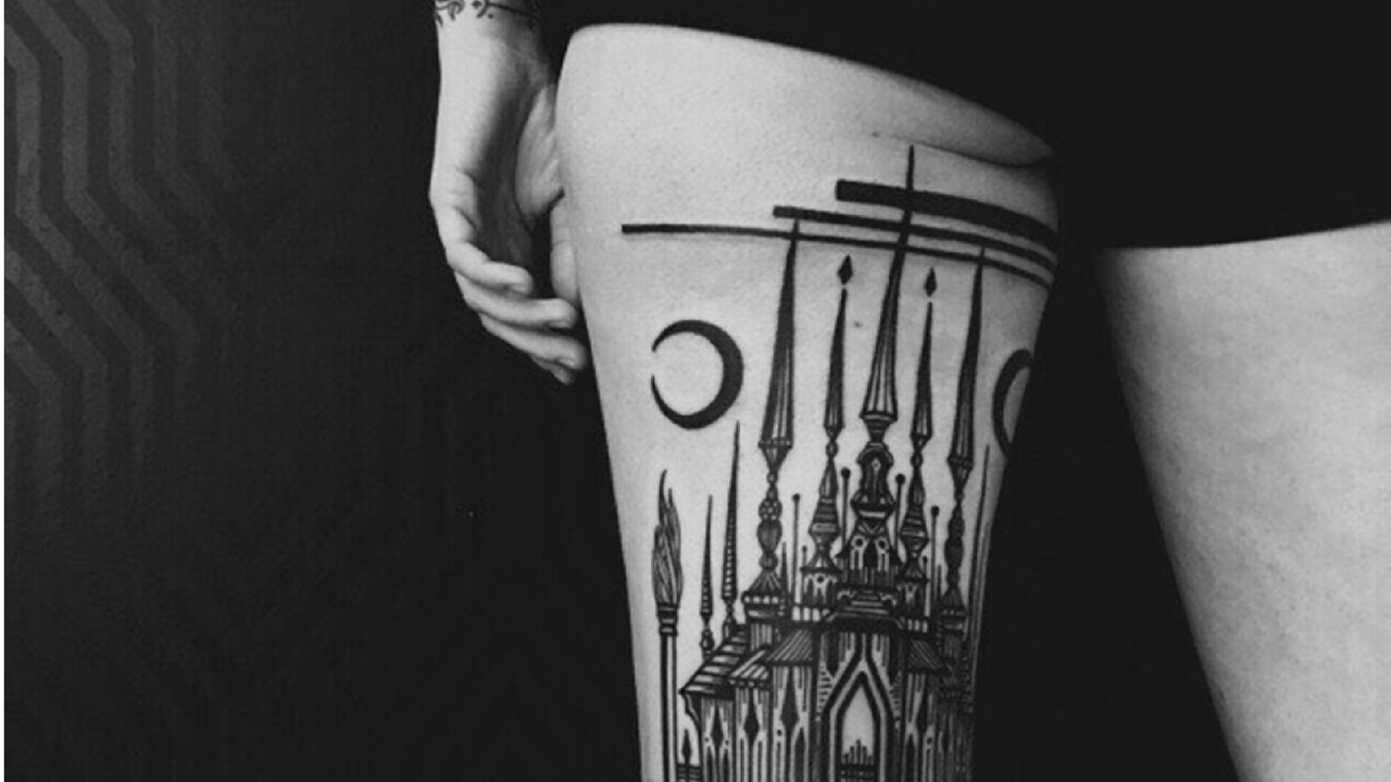 Architecture Tattoos, because your body is a Wonderland