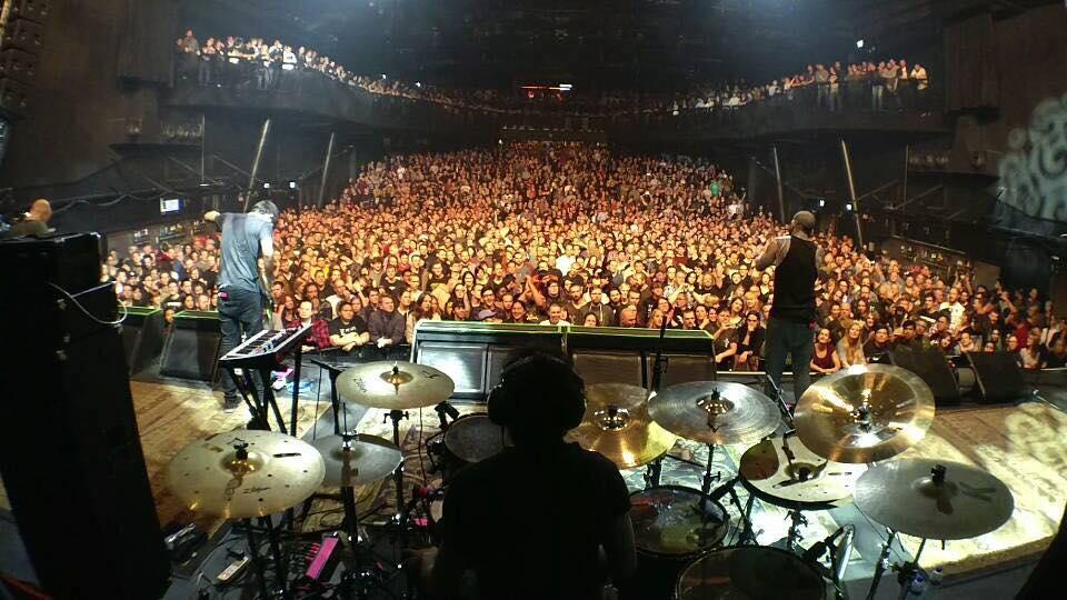 In Tilburg, Netherlands, during Skyharbor-Deftones Europe tour