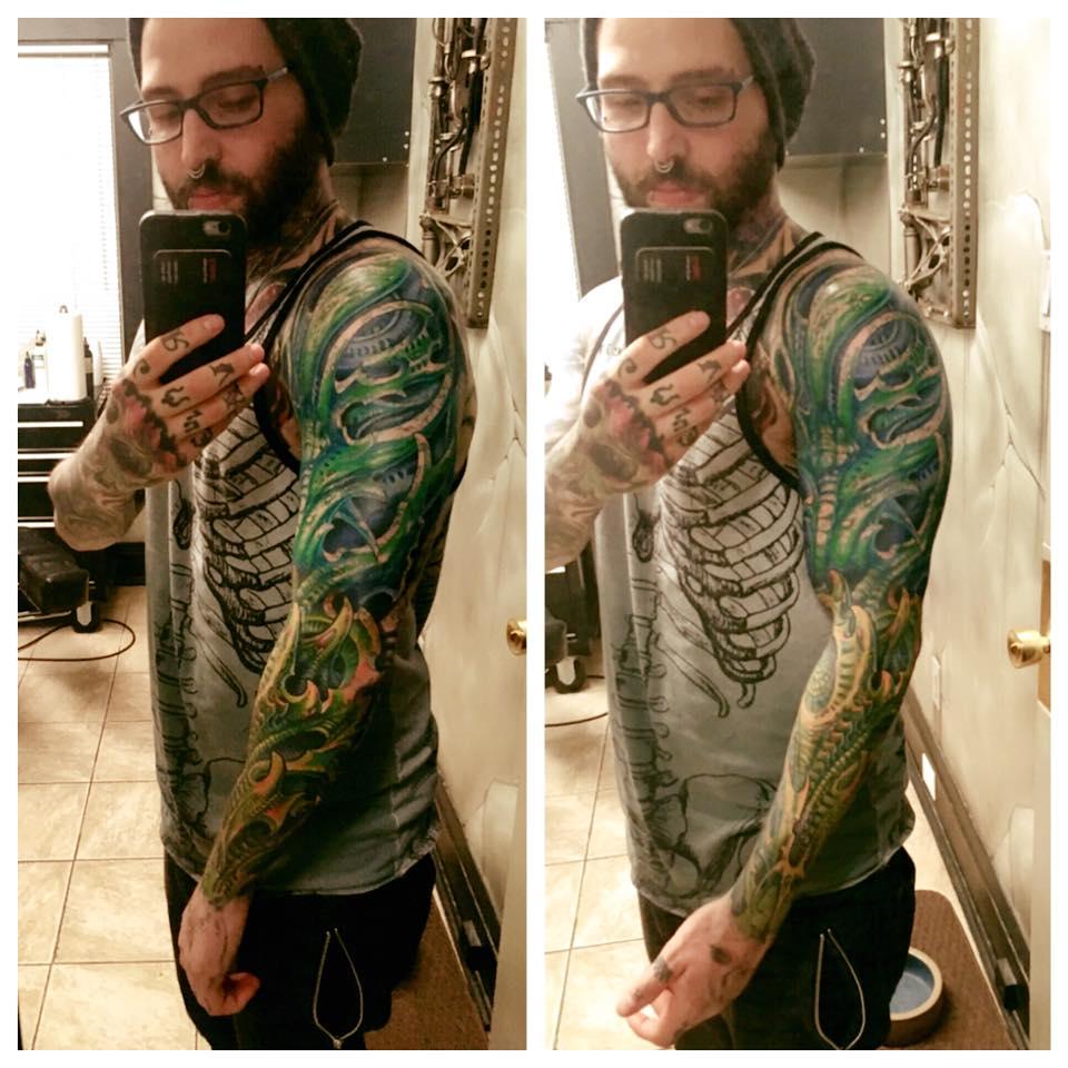 Tattoo by Dan Hazelton, Milwaukee
