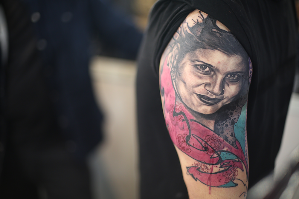 Breaking down a collaboration tattoo with Fabrice Koch & Rishabh Narang
