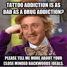 tattoo addictions