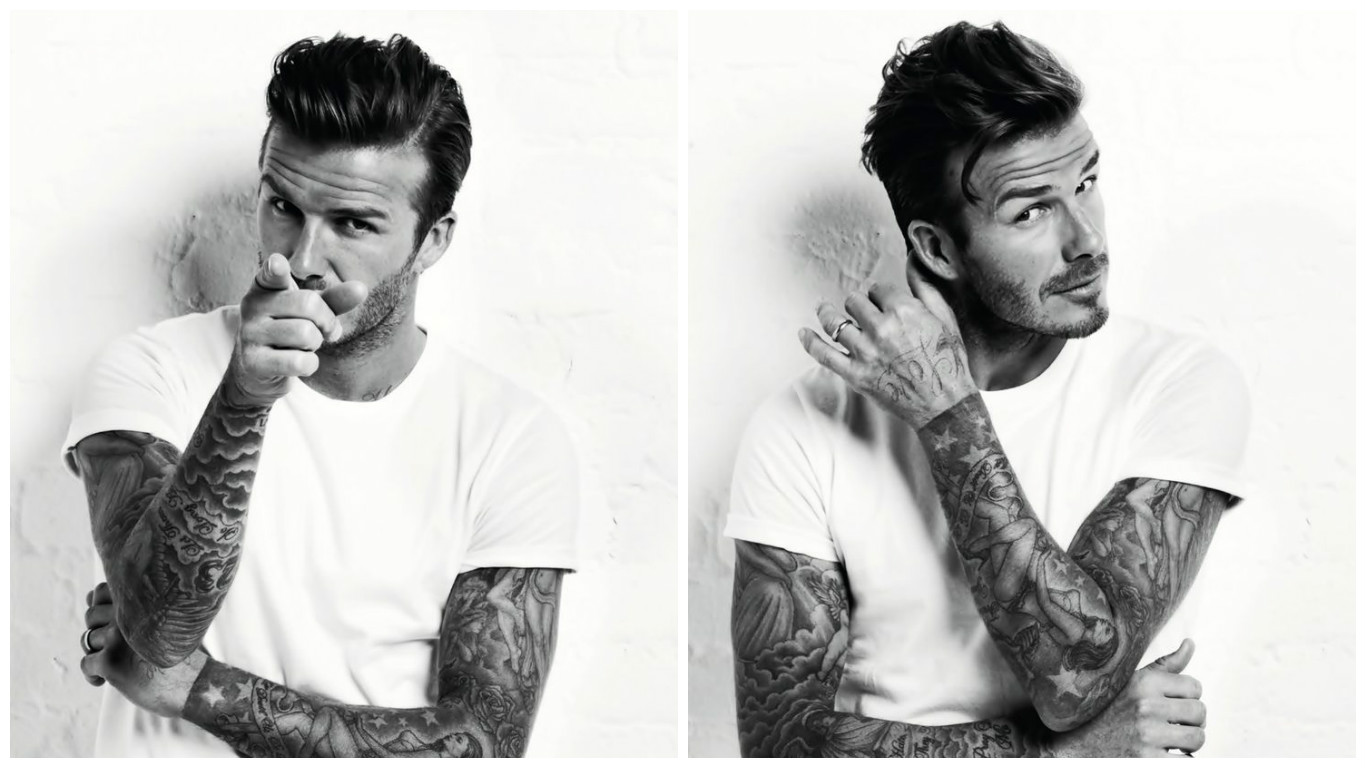 David Beckham-His Tattoos and Meanings