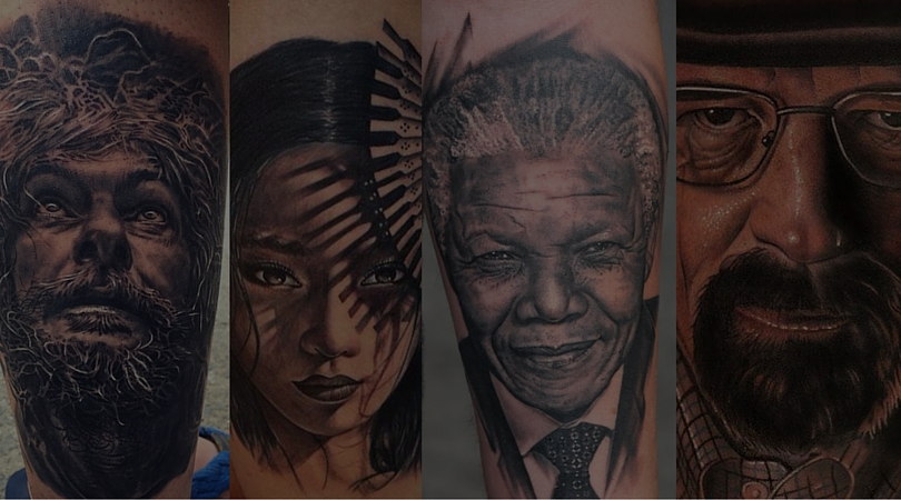 These portrait tattoos by Indian artists will make you book your appointment now