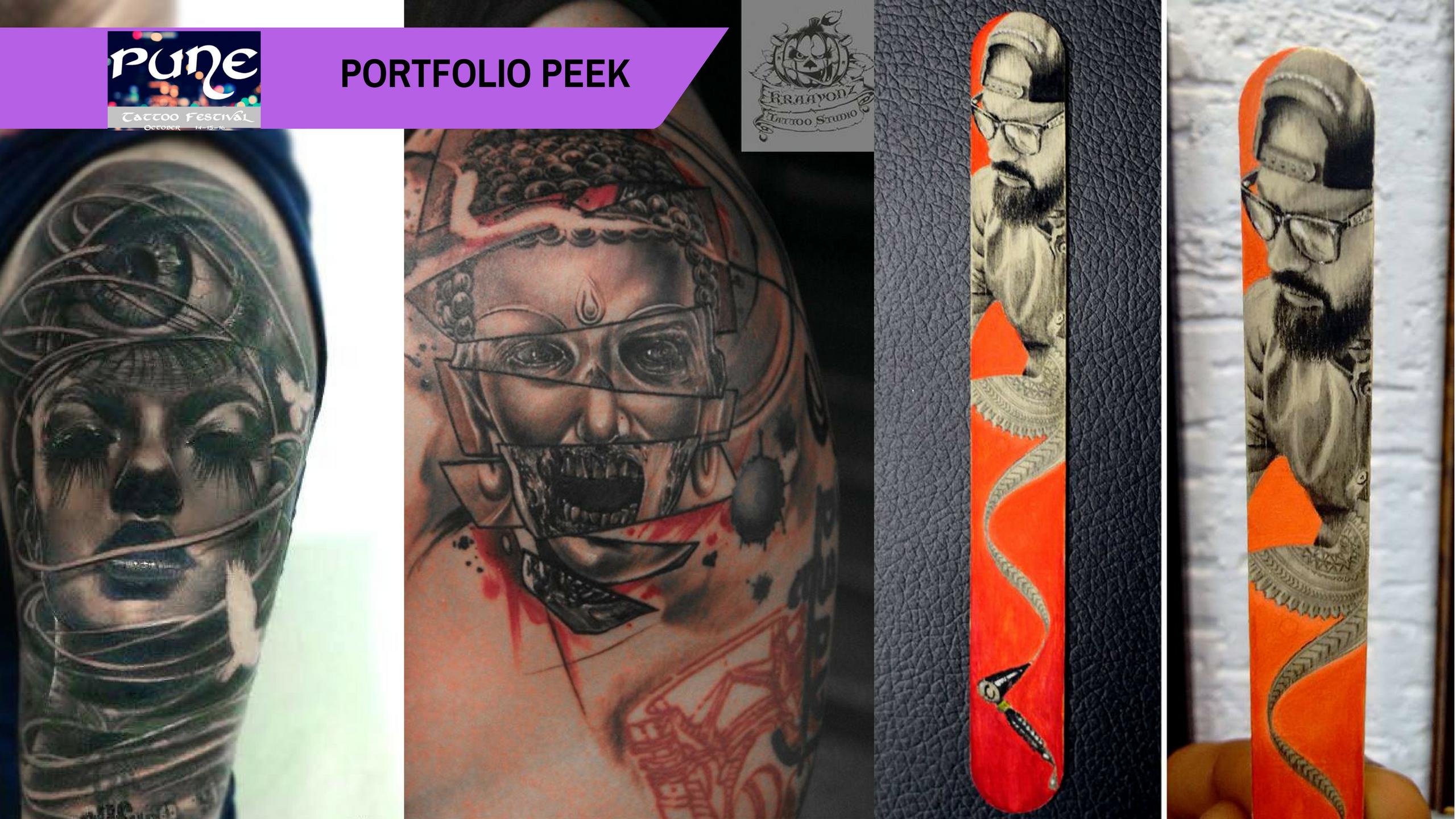 Pune Tattoo Fest Portfolio Peek: Sameer Patange's global vision of Indian tattooing