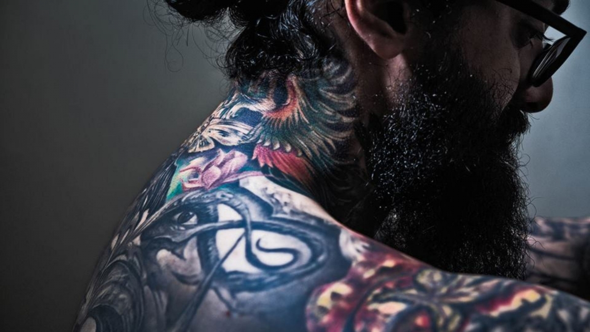 India's 1st tattoo collector shares the tale of what's it like to be heavily tattooed in India